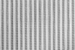 Szara bambusowa tkactwo wzoru tekstura i tło Fotografia Stock