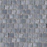 Szara bazaltowa brukowiec tekstura obrazy stock