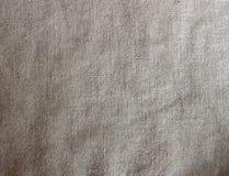 Szara bieliźniana tkanina textured tło Obrazy Stock