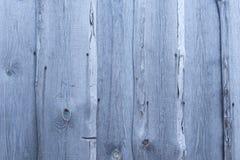 Szara drewniana deski ściana Obrazy Royalty Free