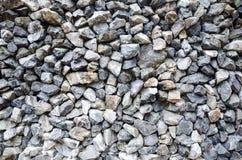 Szara granitowa żwiru tła tekstura Obrazy Stock