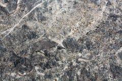 Szara granitu kamienia tekstura Zdjęcie Stock