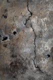 Szara grunge vertical tekstura pęknięcia, narysy na starym backg Obraz Royalty Free