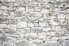 szara kamienna ściana Obraz Royalty Free