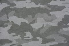 Szara kamuflaż tkaniny tekstura obraz royalty free