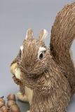 Szara wiewiórka (ornament) Fotografia Royalty Free