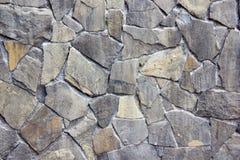 Szare kamienne ściany Zdjęcia Royalty Free