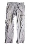szare spodnie Fotografia Stock