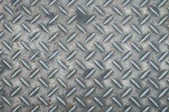 Szarego żelaza talerza podłoga tekstura obraz royalty free