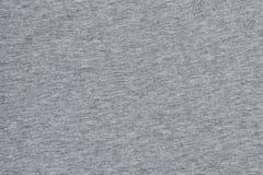 Szarego melange bezszwowa tkanina z bliska Zdjęcia Royalty Free