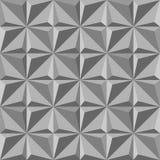 szarego trójboka bezszwowy wzór Moda graficzny projekt również zwrócić corel ilustracji wektora Okulistyczna złudzenia 3D Nowożyt Obraz Royalty Free
