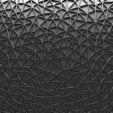 Szarej Poligonalnej mozaiki Geometryczny tło obrazy stock