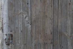 Szarej stajni Drewniana ściana Zaszaluje Prostokątną teksturę Starego Drewnianego wieśniaka deseczek Popielaty Podławy tło Twarde Zdjęcie Stock