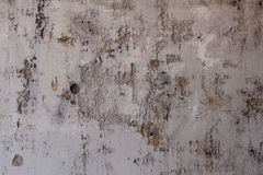 Szarość cementu ściana Obrazy Royalty Free