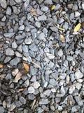 Szarość kamienia skały tło Obraz Stock