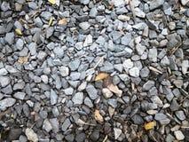 Szarość kamienia skały tło Obrazy Stock