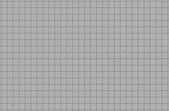 Szarość kropkująca linii kwadratowa siatka ukazuje się z embossing tekstury tłem Zdjęcia Stock
