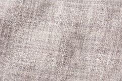 Szarość linnen wiskozową poliestrową mieszanki teksturę Obraz Royalty Free