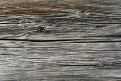 Szarość piłowali drewnianego beli tło Obrazy Royalty Free