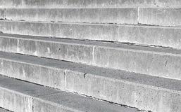Szarość schodków betonowy tło zdjęcie royalty free