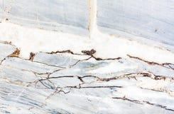 Szarości światła marmuru kamienia tekstura Obrazy Royalty Free