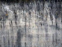 Szarości betonowa tekstura z plamami i smudges obrazy stock