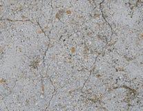 Szarości tekstury betonowy tło szkoda obraz stock