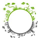 szarości zieleń Obrazy Stock