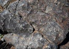 Szarości kamienna tekstura Fotografia Royalty Free