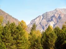 Szaroniebieskie góry Obrazy Royalty Free