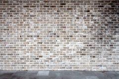 Szary ściana z cegieł fotografia royalty free