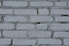 Szary ściana z cegieł Zdjęcia Royalty Free