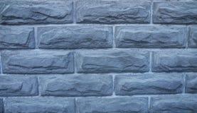 Szary ściana z cegieł dla tła obrazy royalty free