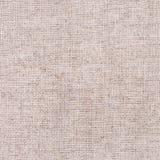 Szary bieliźnianego płótna kanwy tło Obrazy Royalty Free