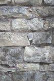 Szary brickwall Obraz Royalty Free