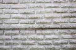Szary cegły tło, nowożytna cegła stylizował pod dzikim kamieniem Fotografia Royalty Free