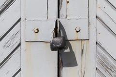 Szary drzwi zdjęcie royalty free
