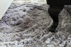Szary dywan jako tło, obrazy stock