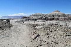 Szary góra krajobraz Obrazy Stock