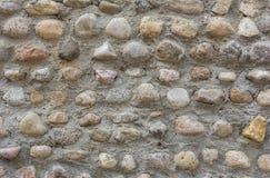 Szary kamiennej ściany abstrakta wzoru tekstury tło Zdjęcia Royalty Free