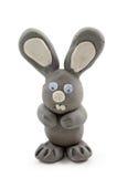 szary królik. Zdjęcie Stock
