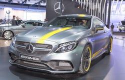 Szary Mercedez Benz Obrazy Stock