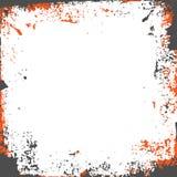Szary pomarańczowy grunge tło Fotografia Royalty Free