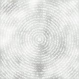 Szary tło z grunge koncentrycznymi okręgami ilustracja wektor