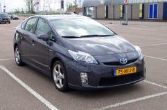 Szary Toyota Prius hybryd Obrazy Stock