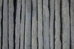Szarzy błękitni pionowo nierówni betonowi bloki linie pionowe Szorstkiej powierzchni tekstura fotografia royalty free