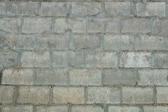 Szarzy betonowi bloki ściana, bezszwowa tło fotografii tekstura Zdjęcia Stock
