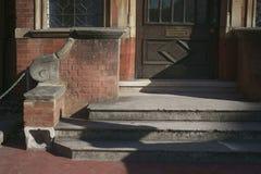 Szarzy betonowi progi obraz royalty free