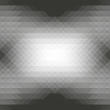 Szarzy trójboki i rhombus bezszwowy abstrakcjonistyczny geometryczny wzór Obrazy Stock