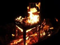 Szatanu krzesło Fotografia Royalty Free